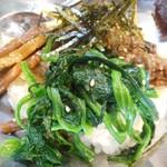 炭火焼肉 明石魚の棚 肉焼屋 - ピビンバ