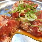 炭火焼肉 明石魚の棚 肉焼屋 - サガリ