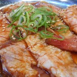 炭火焼肉 明石魚の棚 肉焼屋 - えんがわハラミ