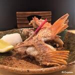 浜味屋 - 幸神目抜のカマ塩焼