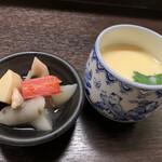 144316041 - 小鉢、茶碗蒸し