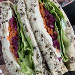 ロンロン キッチン - 料理写真:野菜のマリネ&生ハム&クリームチーズ ¥390(税抜)