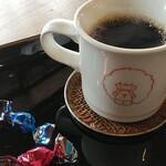 たちばな屋 - ドリンク写真:試飲のコーヒー