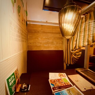 個室(半個室)でリラックス…京都駅近で夜ゴハンを満喫♪