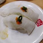 寿司虎  - カレイエンガワ