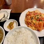 個室Dining 新荘園 - 海老スイートチリ定食