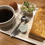 喫茶 ボン - 料理写真:ホットコーヒー、モーニング