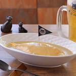 東京ロビン - オムカレー(恵比寿の料理人が考えるエビスビールに合う逸品グランプリ初代グランプリ受賞)