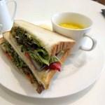 スーホルムカフェ - 夏野菜グリルのサンド