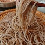 ちょい蕎麦庵 - 粗挽田舎 北海道石狩沼田産