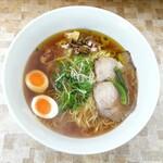 Ramentanino - ◆拉麺 そのニ(明石蛸とポルチーニ茸のスープ)大盛