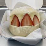 グッド モーニング テーブル - 生クリームバーガー・イチゴ