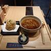蕎麦きり みよた - 料理写真:天もり +かき揚げ、660円(+税)。