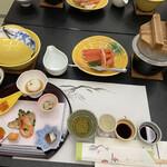ゆ湯の宿白山菖蒲亭 - 料理写真: