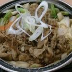 吉野家 - 牛すき鍋膳 並盛の牛すき鍋