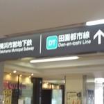 蕎麦・天ぷら 権八 - 駅中です