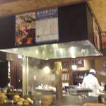 蕎麦・天ぷら 権八 - オープンキッチン