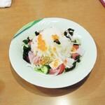 魚々市 - 海鮮サラダ?