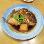 魚々市 - 鯛のあら炊き