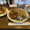 昆布森 - 料理写真:肉あんかけチャーハン 750円 カキさっくり唐揚げ 800円