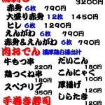 五反田 肉寿司 -
