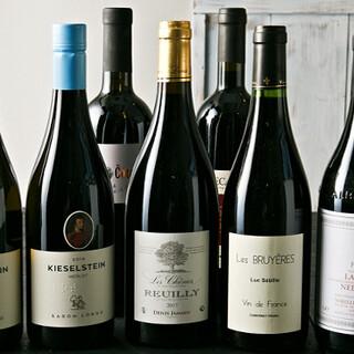 ワイン×焼肉の組み合わせがピッタリ◎他にも豊富な種類をご用意