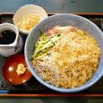 小諸そば - 二枚冷やしたぬき¥350 2012.8.21