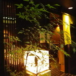 茅場町 長寿庵 - 地下1階の玄関