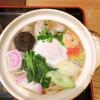 にい島 - 料理写真:鍋焼きうどん900円