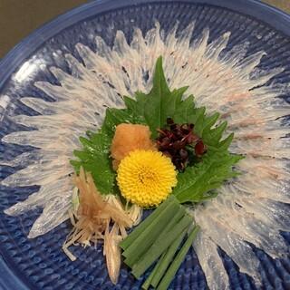 鹿児島鰻『うなぎ薄造り』※要予約