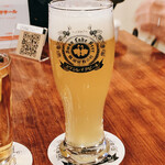 SWANLAKE Pub Edo - 同行者が発注したゴールデンエール