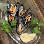 ボア・セレスト - 冷製ムール貝