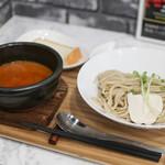 ヌードル 麺和 - 濃厚オマール海老のトリュフつけ麺☆