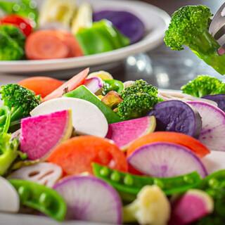 こだわり野菜の美味しさを、鉄板焼きでお召し上がりください!