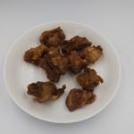 鶏若丸 - チンチロリン唐揚げ(350円)