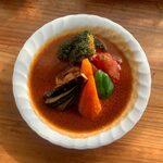 Supukarekamui - チキン野菜カレー ¥990