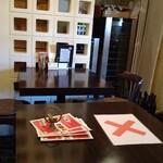 trentotto - コロナ対策のためテーブル空いています。