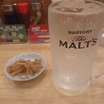肉中華そばムタヒロ - レモンサワー