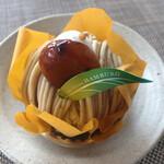 お菓子のアトリエ ハンブルグ - 栗のモンブラン