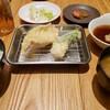 博多天ぷら たかお - 料理写真:  肉天定食  1000円+ 帆立380円