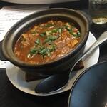 豊華楼 - 麻婆豆腐の土鍋煮