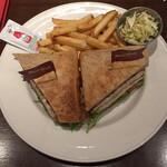 ハードロックカフェ - クラブサンドイッチ