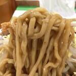 らーめん  忍者 - 【再訪】麺
