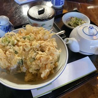 味匠 天宏 - 料理写真:天ぷら茶漬と、茶碗蒸し