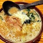 熟成田舎味噌らーめん 幸麺 - 料理写真:チーズ味噌らーめん