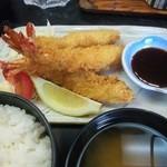 新日本料理 美正 - エビフライ