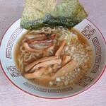 ラッキー酒場 - 料理写真:正油ラーメン(八王子系)