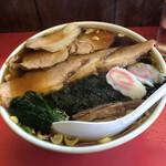 栄楽 - チャーシューワンタン麺