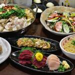 産直市場 丸 - 4000円コース料理