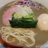 中華そばや 和凡 - 料理写真:煮干しパイタンラーメン¥800+味玉¥100
